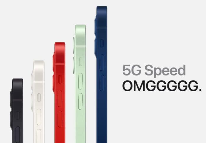 iPhone 12 mit 5G Speed