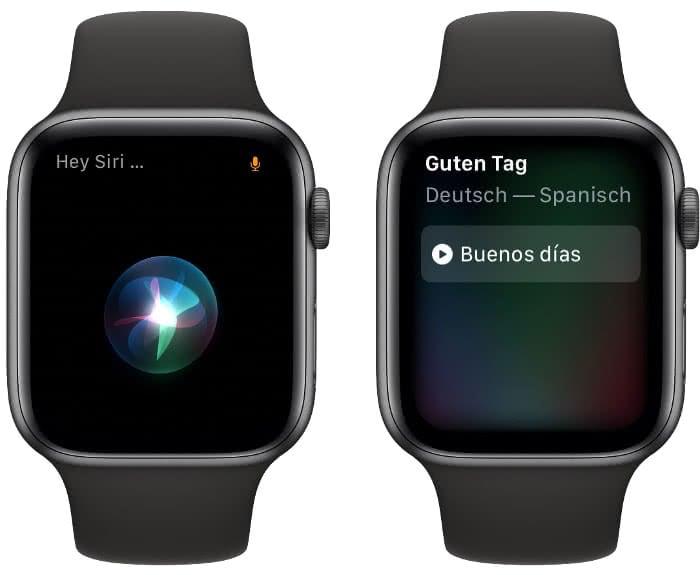 Mit Siri übersetzen auf der Apple Watch
