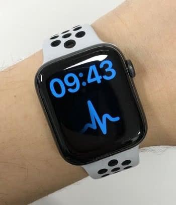 X-Large Zifferblatt auf der Apple Watch