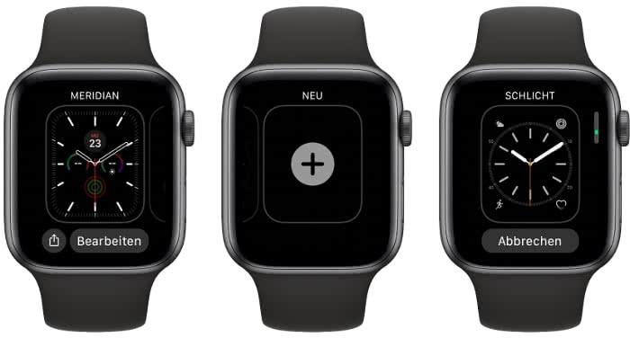 Apple Watch Zifferblatt ändern