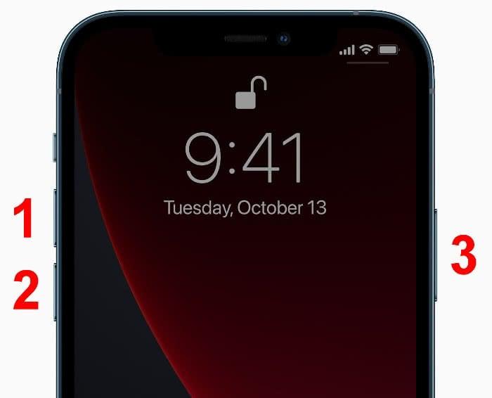 Hard Reset auf dem iPhone 12