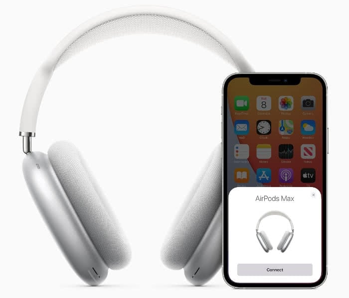 AirPods Max mit iPhone