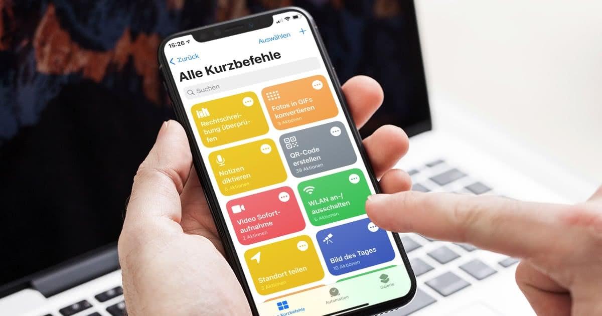 Iphone Kurzbefehle