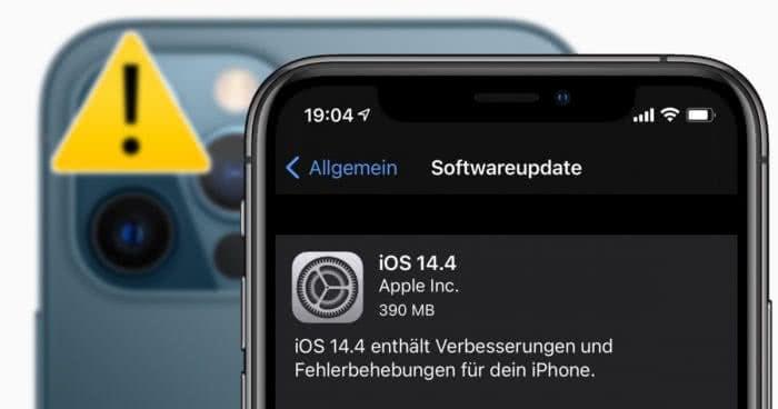 iOS 14.4 ist da! – Neue iPhone-Funktionen, Bugfixes & eine Warnung