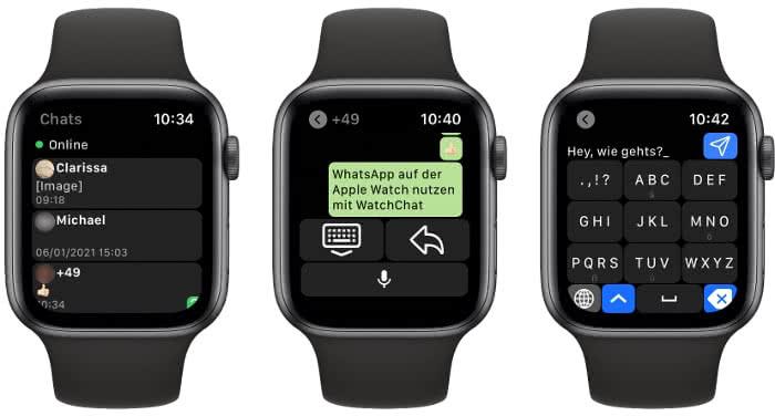 WatchChat-App Screenshots