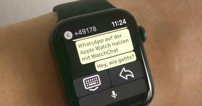 WhatsApp auf Apple Watch nutzen