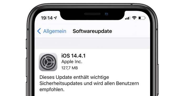iOS 14.4.1 Update schließt Sicherheitslücke – jetzt installieren!