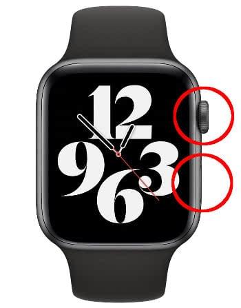 Apple Watch neu starten per Hard Reset