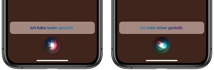 AirPods Lautstärke mit Siri einstellen