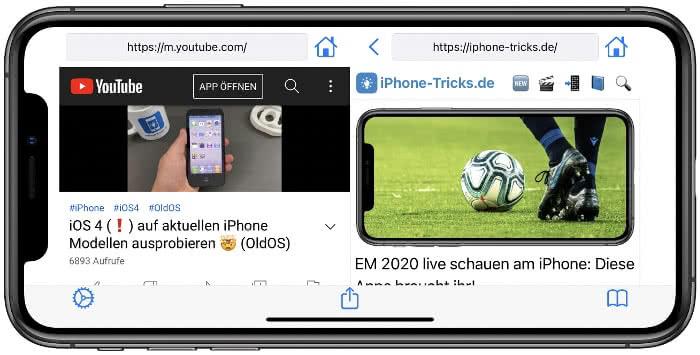 Split View App Screenshot