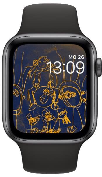 Eigenes Foto als Zifferblatt auf der Apple Watch