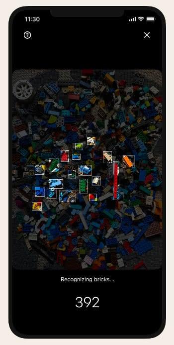 Brickit-App Scan