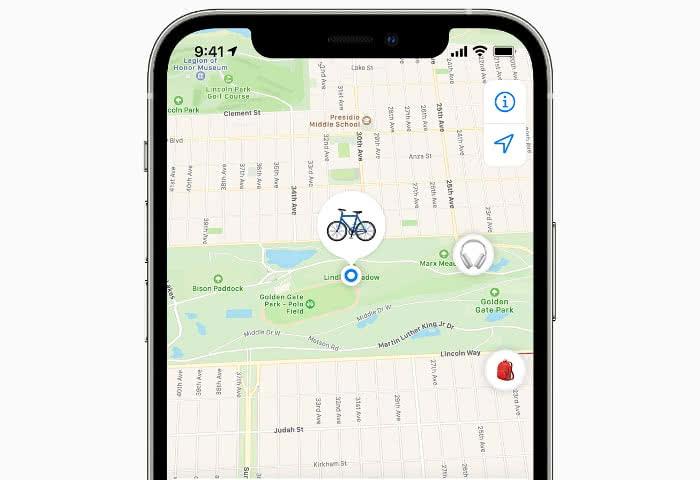 Fahrrad in der Wo ist?-App