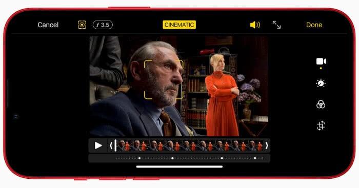 Kinomodus auf dem iPhone 13