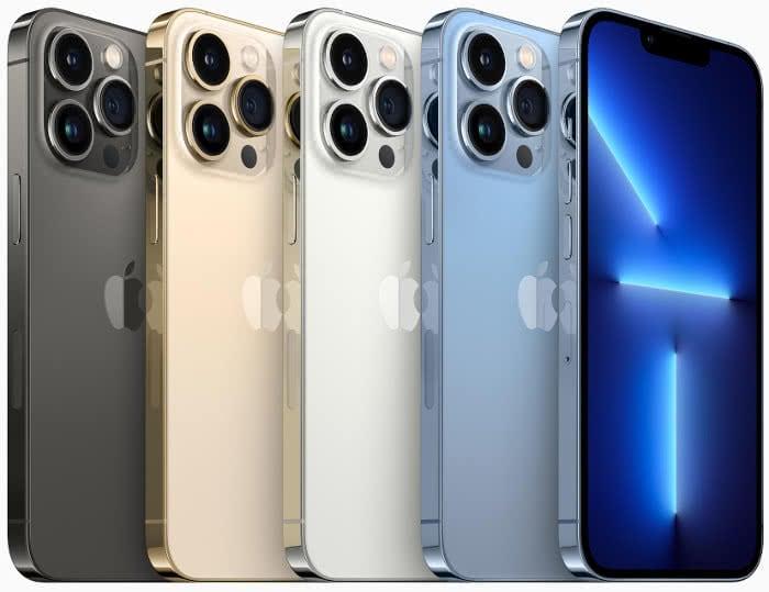 Das neue iPhone 13 Pro und iPhone 13 Pro Max