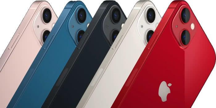 Das neue iPhone 13 und iPhone 13 mini (Bild: Apple)